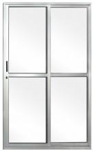 Porta de aluminio 2 folhas