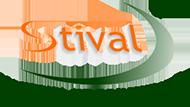 Stival Material de Construção Logo